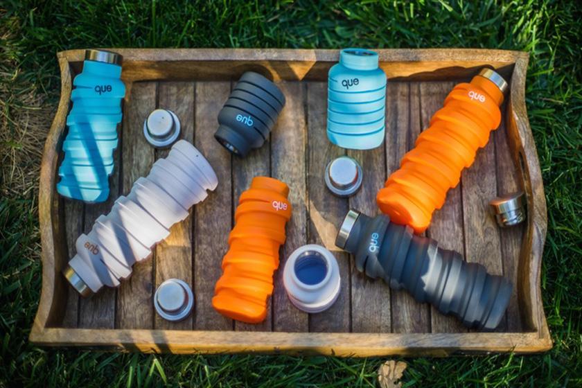 ابزار سفر| بطری آب تاشو برای راحتی در سفر