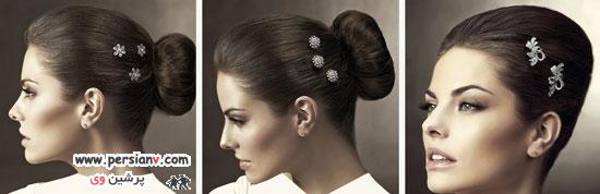 مدل های بسیار زیبای تاج و تزئینات مو عروس برند اسپوزا