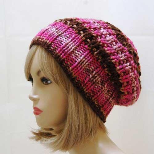 مدل های شیک و به روز کلاه بافتی دخترانه