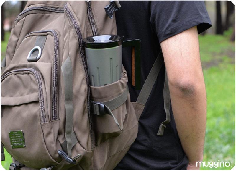 لیوان هوشمند سفر که میتوانید از آن برای شارژ کردن وسایل الکترونیکی استفاده کنید