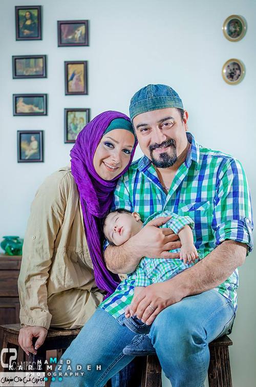عکسهای جدید بازیگران مشهور به همراه همسرانشان