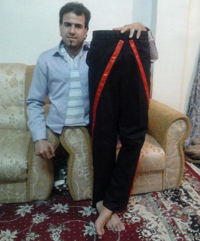 دیوید کاپرفیلد ایرانی را ببینید ، مردی که نصف می شود