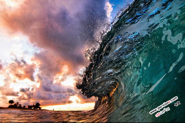 خارق العاده ترین تصاویر از موج ها توسط دو عکاس عکس