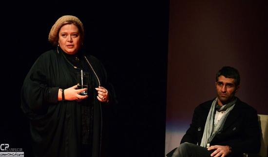 عکس های جدید پژمان جمشیدی و بهاره رهنما در تئاتر