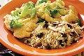 خوراک مرغ با سس خامه و قارچ عکس