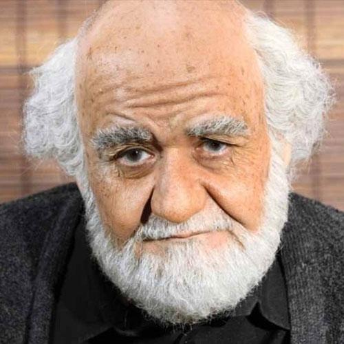 گریم جدید اکبر عبدی در نقش پدربزرگ امین حیایی