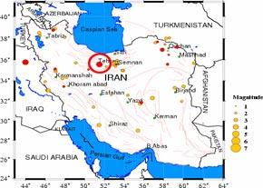ایران در خط زلزله قرارگرفته است