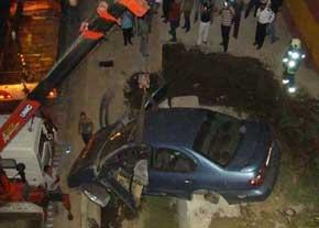 سقوط ماکسیما از پل چمران