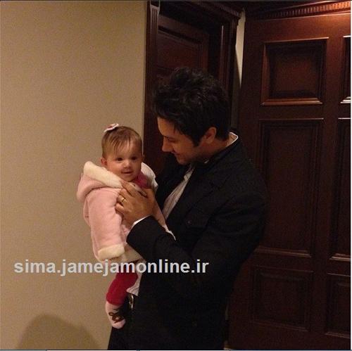 عکس های جدید شاهرخ استخری در کنار دخترش پناه