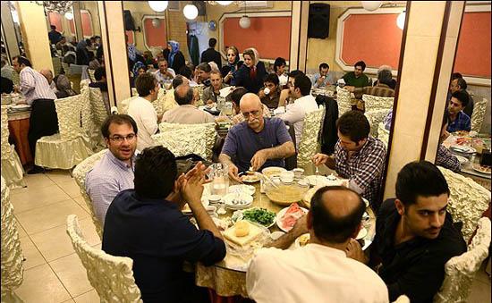 ضیافت افطاری شورای عالی تهیه کنندگان