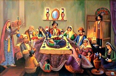 شب یلدا و تاریخچه باستانی آن  تصاویر