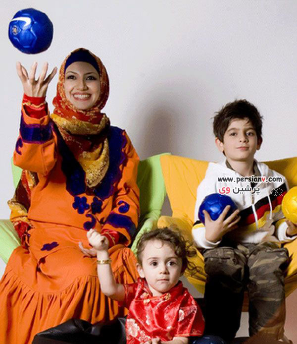 عکسهای خواهر زاده های محمدرضا گلزار به همراه ملیکا زارعی !