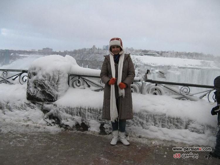 عکسهای متفاوت شبنم قلی خانی در خارج از کشور
