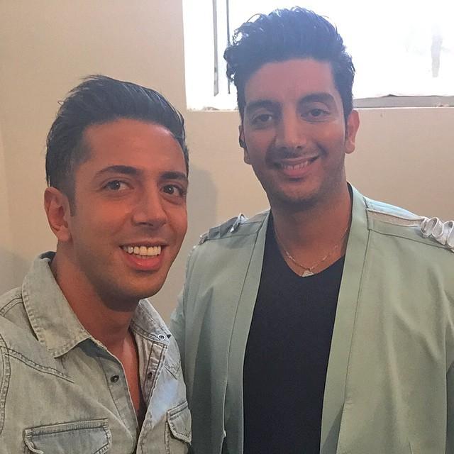 شباهت بسیار عجیب دو خواننده معروف ایرانی