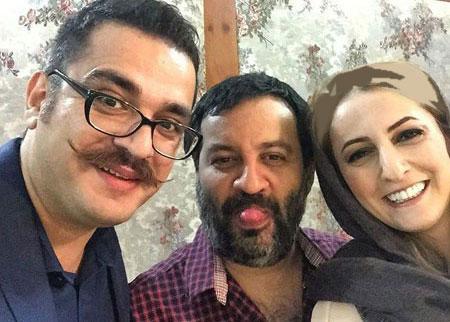 شقایق دهقان و مهراب قاسمخانی و مسعود مرعشی