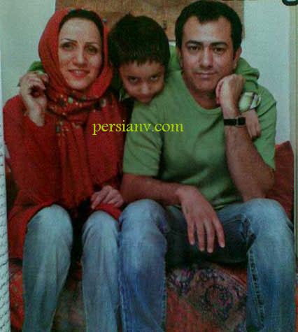 عکس : محمد رضا هدایتی و همسر و فرزندش