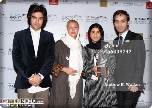 بازیگران ایرانی فیلم «ماهی و گربه» در جشنواره فیلم دبی