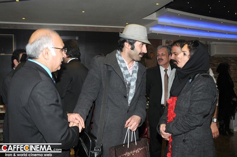 چهره های سینمایی در مراسم رستوران تهران یاریس  تصاویر