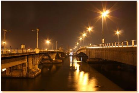 پلهای غازیان و میان پشته