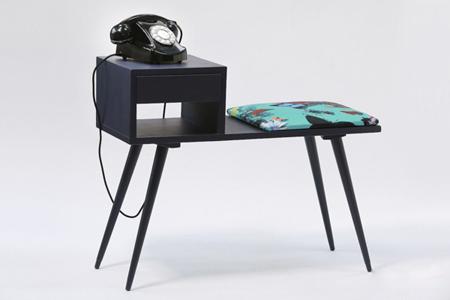 کاربرد میز تلفن در دکوراسیون داخلی
