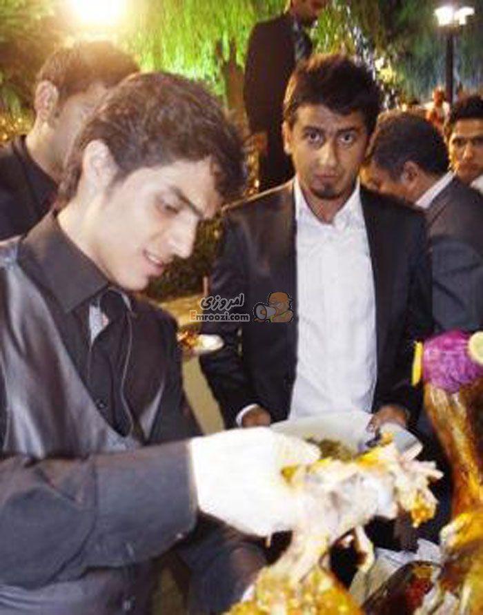 عکس های عروسی مجتبی جبــــاری ( فوتبالیست )