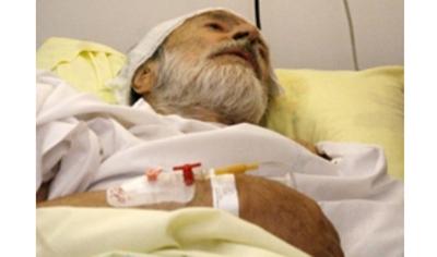 وقایعنگاری از ملاقات با ایرج قادری روی تخت بیمارستان