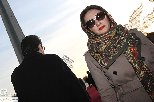 عکس های هانیه توسلی در جشنواره سی و سه فیلم فجر