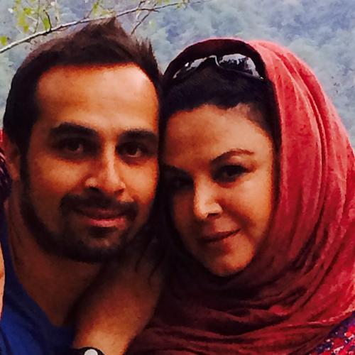 عکس جدید شهره سطانی و همسرش پس از بهبودی بیماری اش