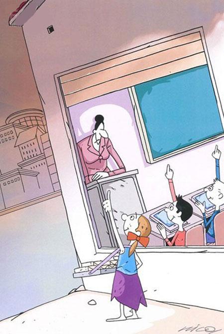 مجموعه کاریکاتور جدید و مفهومی
