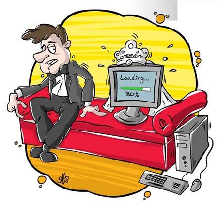 مجموعه کاریکاتورهای ازدواج اینترنتی