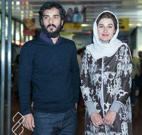 گلوریا هاردی و همسرش ساعد سهیلی