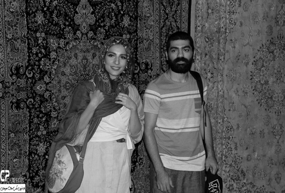 بازیگران و ورزشکاران در افتتاحیه نمایش فصل شکار بادبادک ها
