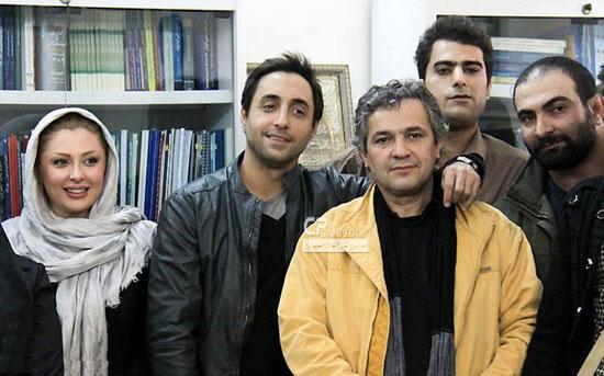 عکسهای نیوشا ضیغمی و امیر حسین رستمی در حال اهدای خون