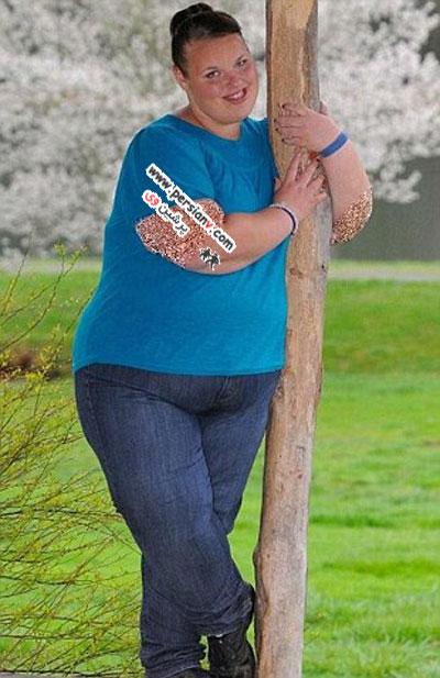 چاق ترین دختر نوجوان بریتانیا