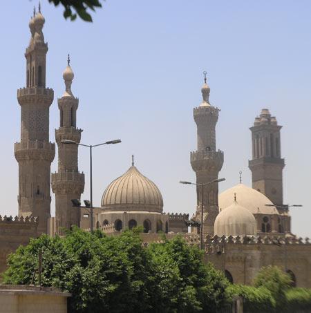 مسجد الازهر در قاهره را بهتر بشناسید تصاویر