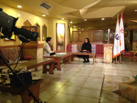 نرگس محمدی در برنامه صبح خلیج فارس