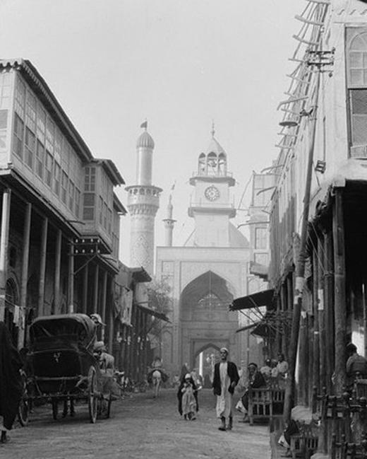 درباره کربلا در یک قرن پیش تصاویری