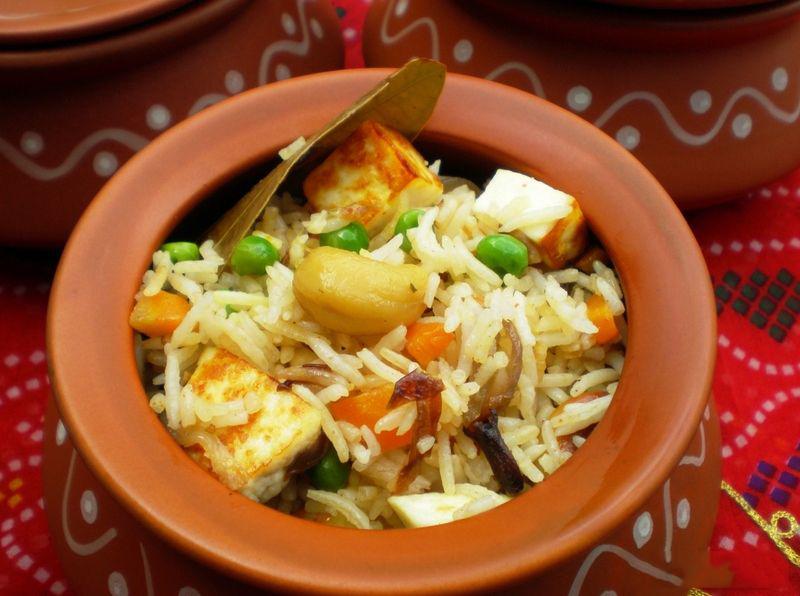 طرز تهیه پنیر پلو ، یک پلوی هندی لذیذ