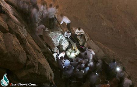 تصاویر زیبایی از غار حرا