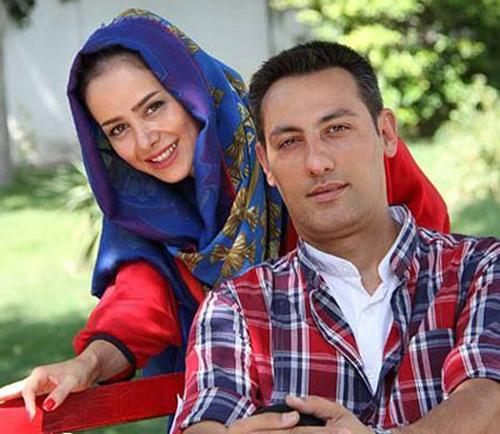 الناز حبیبی از ازدواجش و زندگی کردن شوهرش در خارج از کشور می گوید