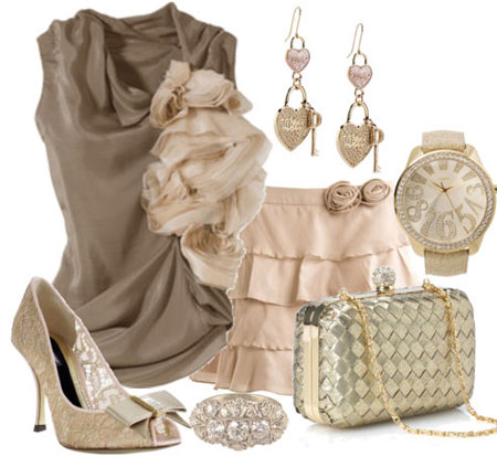 ست مدل لباس زنانه رنگی مخصوص مهمانی ها