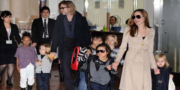 با 6 فرزند آنجلینا جولی و برد پیت آشنا شوید
