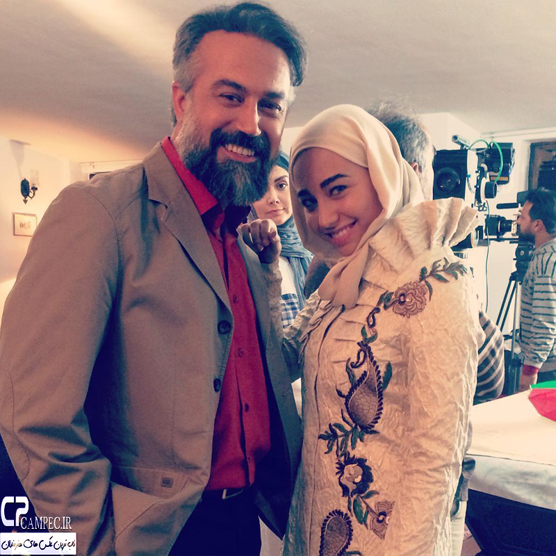 زندگی متفاوت و جالب دانیال حکیمی و همسرش با دختر بازیگرشان دایانا حکیمی