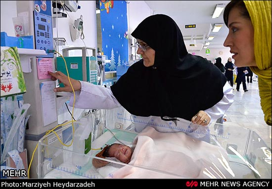 روز متفاوت مهتاب کرامتی در بیمارستان مهدیه تهران