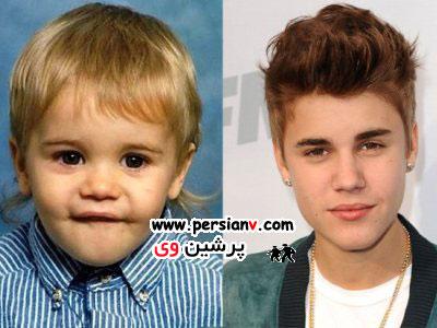 تصاویری از کودکی مشهورترین خواننده های دنیا!