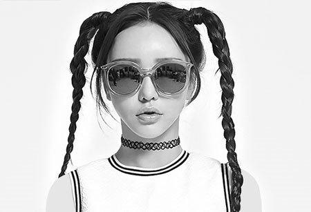 نمونه هایی از جدیدترین مدل عینک آفتابی زنانه برند INMIX