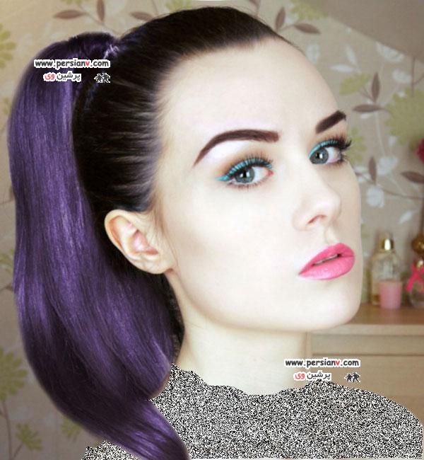 آرایش های بسیار ماهرانه دختر 18 ساله