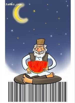 کاریکاتور های خنده دار ، شب یلدا