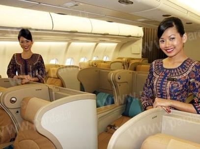 انتخاب زیباترین و جذابترین مهمانداران خطوط هوایی جهان !  تصاویر