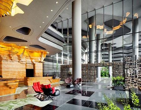آشنایی با هتل پارک رویال در سنگاپور تصاویر